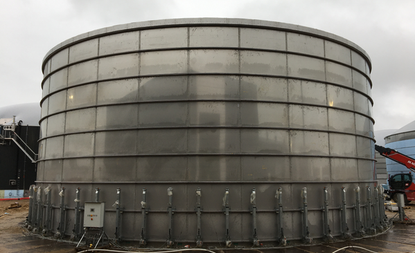 Extension of Stallkamp Liquid Manure Tank
