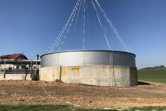 Adding Height to Concrete Silo