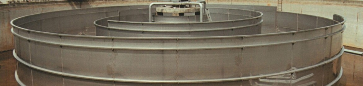 Stainless Steel Clarifying Basin for Purification Plant