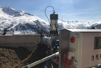 Separator ComPress in the Swiss Alps