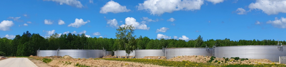 Stallkamp biogas, WWTP and agricultural products