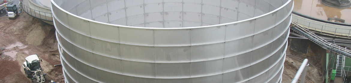Waste Water Tank with Stainless Steel Floor for Paper Industry