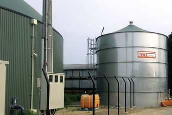 Biogas plant in Japan