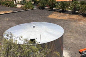 Rainwater Collecting Tank in Stainless Steel