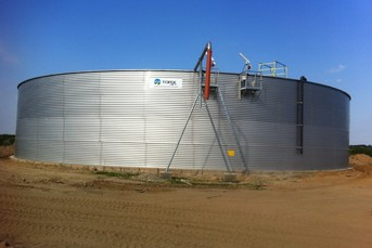 Huge Slurry Storage in Belarus