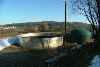 Stainless Steel Digester for Biogas Plant