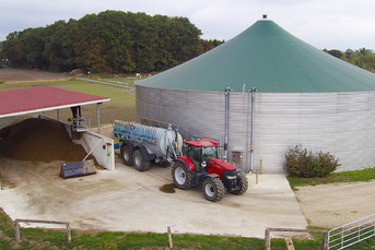 Slurry Tank with Manure Separator