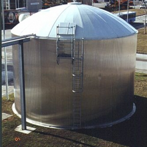 Stallkamp domed roof wastewater plant