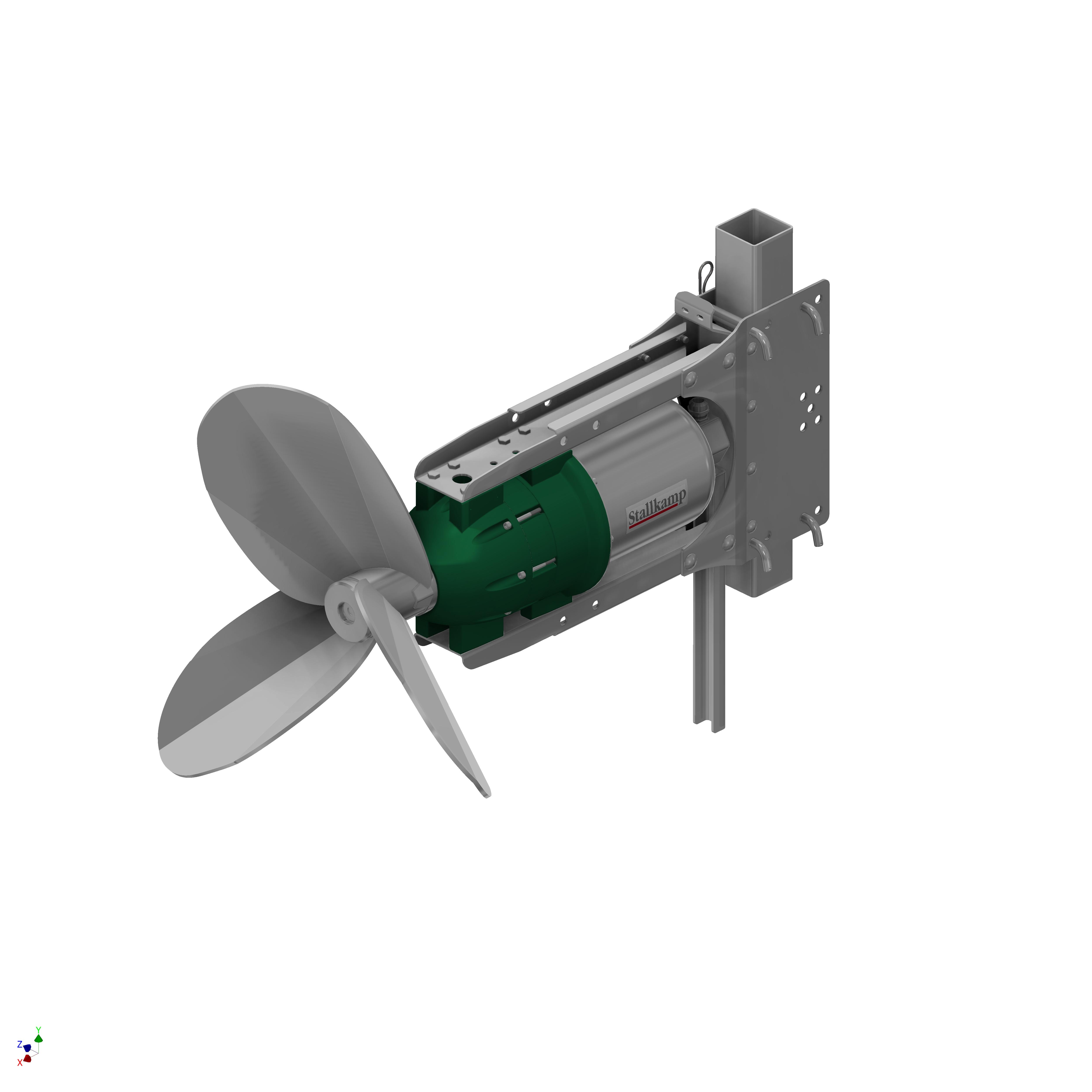 Stallkamp submersible motor agitator, mixer - Erich Stallkamp ESTA GmbH